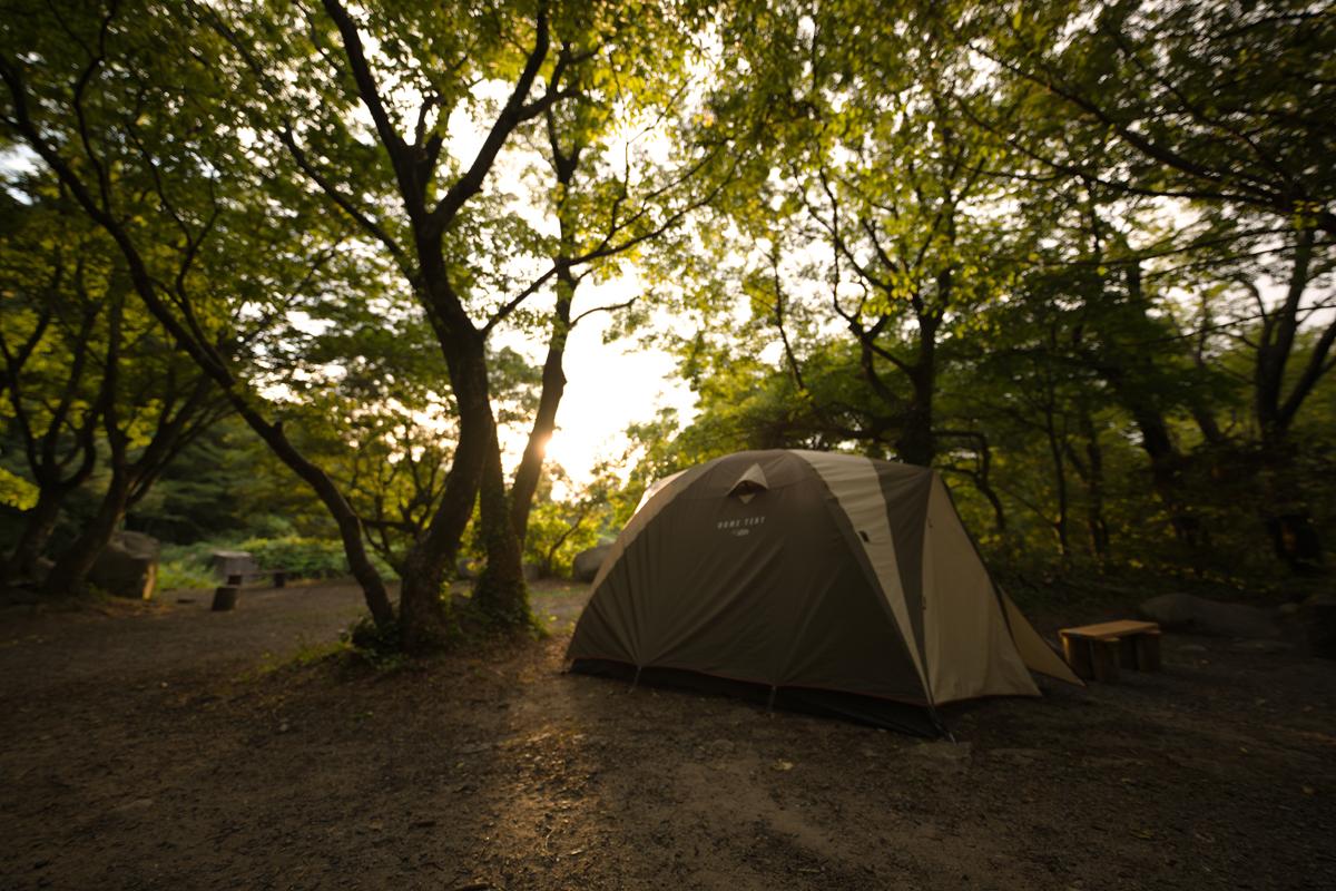 ikoi20180820-02 夕方の空がきれい 五頭山麓いこいの森