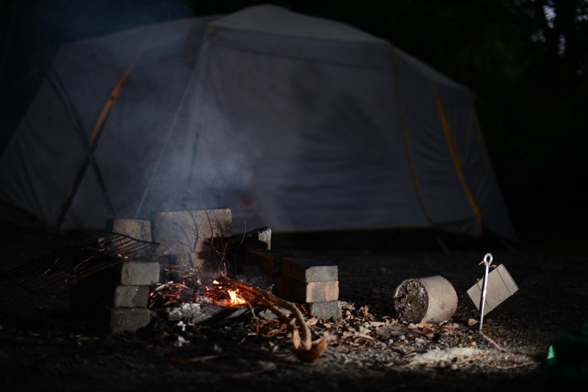 ikoi20180918-07 秋の夜にキャンプをして探検してみた 五頭山麓いこいの森