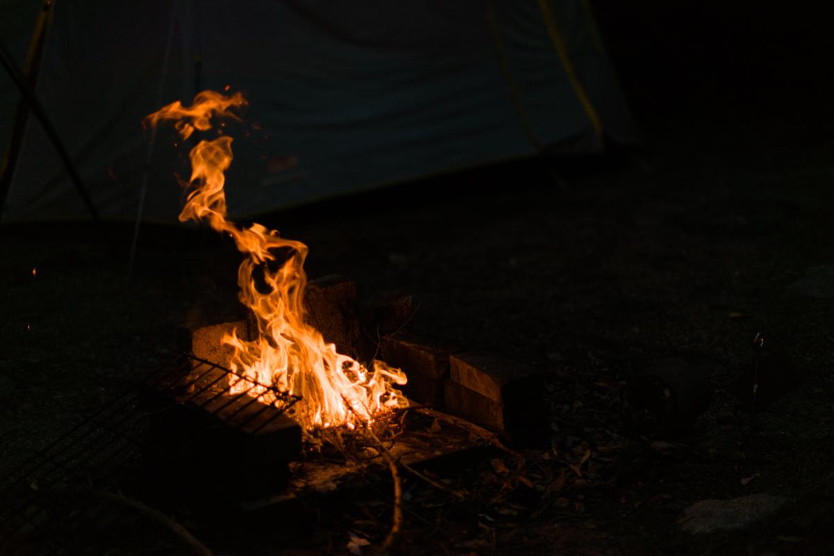 ikoi20180918-08 秋の夜にキャンプをして探検してみた 五頭山麓いこいの森