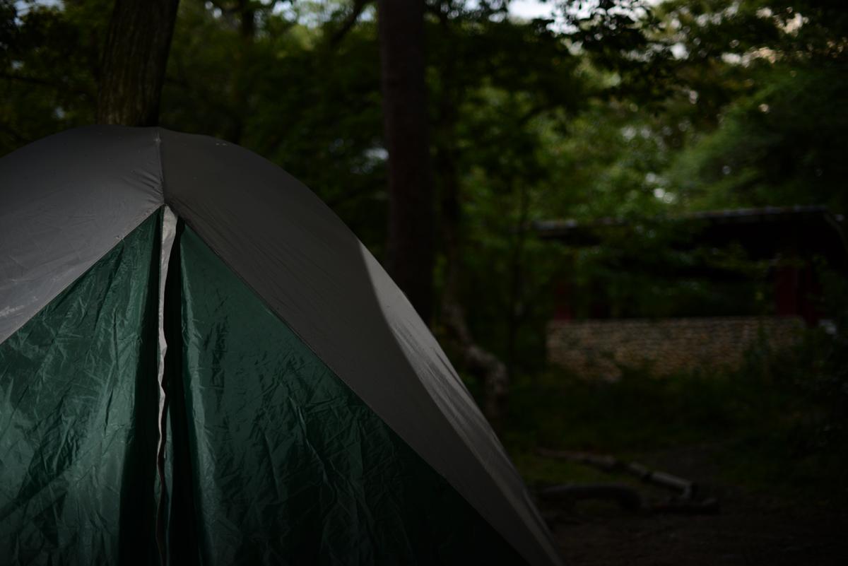 ikoi20180918-12 秋の夜にキャンプをして探検してみた 五頭山麓いこいの森