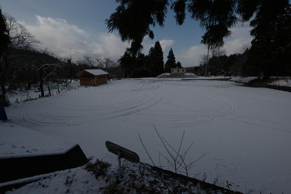 ikoi20190118-23 寒くなってきましたね 五頭山麓いこいの森